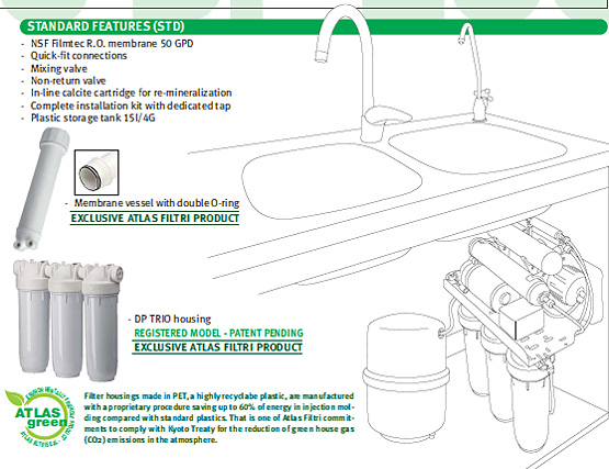 OASIS DP Eco Standard Feature